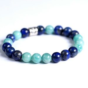 Lapis lazuli armbånd